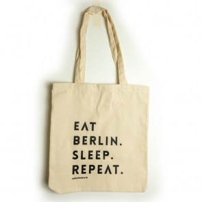 Beutel - EAT BERLIN. SLEEP. REPEAT.