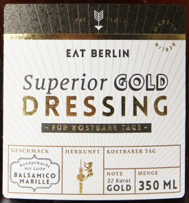 Superior Gold Dressing - Label